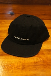 BANKS JOURNAL LABEL HAT (DIRTY BLACK)