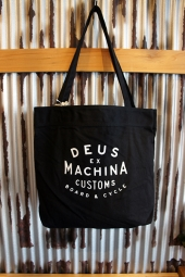DEUS EX MACHINA NEW CLASSIC TOTE (BLACK)