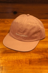 BANKS JOURNAL LABEL HAT (ASH ROSE)