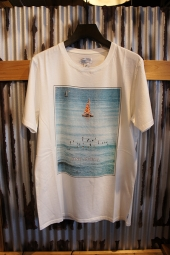 BANKS JOURNAL BOATS TEE SHIRT (OFF WHITE)