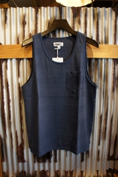 BANKS JOURNAL DOVER TANK (DIRTY DENIM)