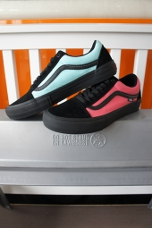 VANS OLD SKOOL PRO (Asymmetry) Black/Rose/Blue