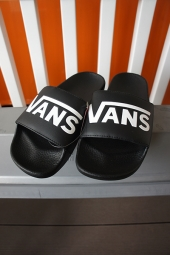 【LADY'S ITEM】 VANS SLIDE-ON (VANS) BLACK