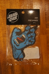 SANTA CRUZ SCREAMING HAND AIR FRESHNER