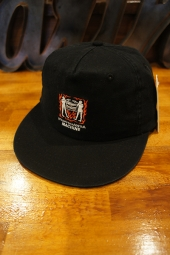 AFENDS MACHINE UNSTRUCTURED CAP (BLACK)