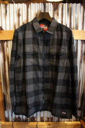 VANS × INDEPENDENT ZIP FLANNEL (ASPHALT)