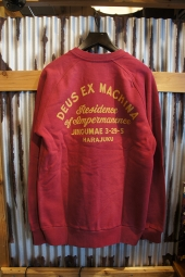 DEUS EX MACHINA Sunbleach Impermanence Crew (RUMBA RED)