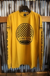 DEUS EX MACHINA Racer LS TEE (GOLDEN YELLOW)