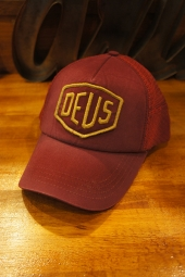 DEUS EX MACHINA Shield Trucker (RUMBA RED)