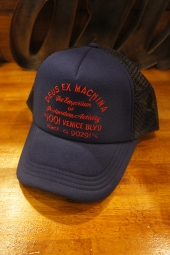 DEUS EX MACHINA Bleached Venice Trucker (ESTATE BLUE)