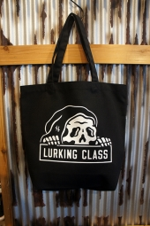 LURKING CLASS BY SKETCHY TANK LC TOTES (BLACK)