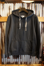 BANKS JOURNAL TOKEN PULLOVER FLEECE (DIRTY BLACK)