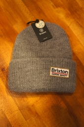 BRIXTON PALMER II BEANIE (LIGHT HEATHER GREY)