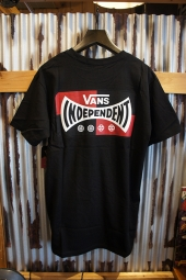 VANS × INDEPENDENT LOGO S/S T-SHIRT (BLACK)