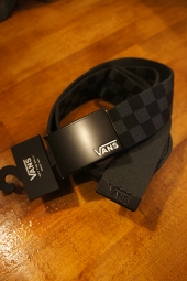VANS DEPPSTER 2 WEB BELT (BLACK/CHARCOAL)