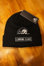 LURKING CLASS BY SKETCHY TANK LC STITCH BEANIE (BLACK)