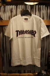 INDEPENDENT x THRASHER TIME TO GRIND S/S TEE (WHITE)