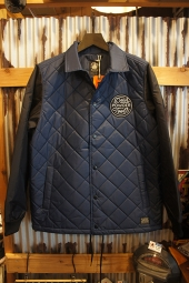 DEUS EX MACHINA Pinnacle quilted jacket (NAVY)