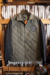 DEUS EX MACHINA Pinnacle quilted jacket (GREY)