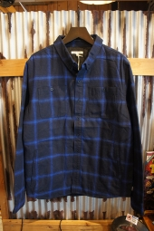 BANKS JOURNAL MOMENTUM L/S WOVEN SHIRT (DIRTY DENIM)