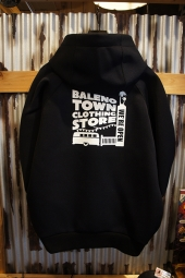 BALENO TOWN CLOTHING STORE ORIGINAL STORE LOGO WET JUMPER(BLACK)