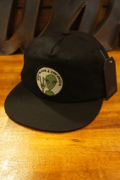 AFENDS BLAZIN UNSTRUCTURED CAP (BLACK)