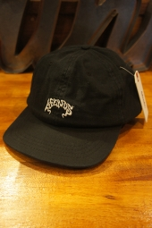 AFENDS MAGIC SOFT BRIM 6 PANEL CAP (BLACK)