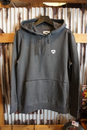 BANKS JOURNAL HEART PULLOVER FLEECE (DIRTY BLACK)