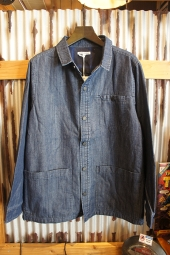 BANKS JOURNAL COMMONER DENIM JACKET (DIRTY DENIM)