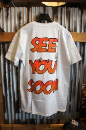 DIAMOND SUPPLY CO SEE YOU SOON TEE (WHITE)