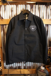DEUS EX MACHINA Bench Coach Jacket (BLACK)