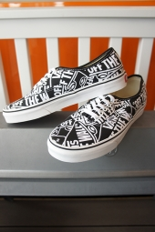 VANS Authentic (OTW Repeat) Black/True White