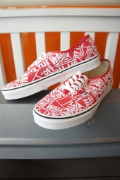 VANS Authentic (OTW Repeat) Red/True White