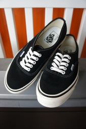 VANS Authentic 44 DX (ANAHEIM FACTORY) Og Black BK/SUE