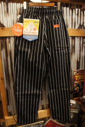 Cookman Chef Pants (「Stripe」 BLACK)