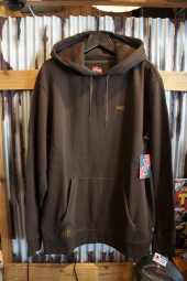 VANS × INDEPENDENT IRON CROSS HOODIE (DEMITASSE)