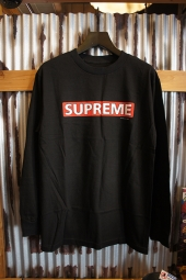 POWELL PERALTA SUPREME L/S T-SHIRT (BLACK)