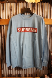 POWELL PERALTA SUPREME L/S T-SHIRT (CAROLINA BLUE)