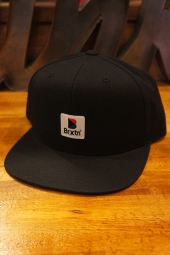 BRIXTON STOWELL MP SNAPBACK (BLACK)