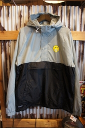 RIPNDIP It Won't Be Ok Anorak Jacket (Black/Gray)