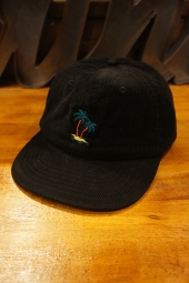 BANKS JOURNAL BAHAMAS HAT (DIRTY BLACK)