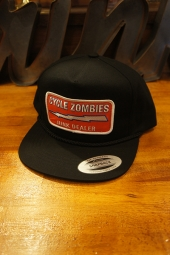 CYCLE ZOMBIES JUNK DEALER Snapback Hat (BLACK)