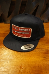 CYCLE ZOMBIES JUNK DEALER Snapback Hat (NAVY)