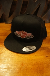 CYCLE ZOMBIES DIE FREE Snapback Hat (BLACK)