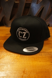 CYCLE ZOMBIES GARAGE Snapback Hat (BLACK)