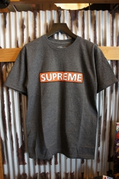 POWELL PERALTA SUPREME S/S T-SHIRT (CHARCOAL)