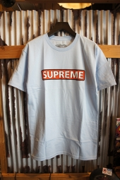 POWELL PERALTA SUPREME S/S T-SHIRT (POWDER BLUE)