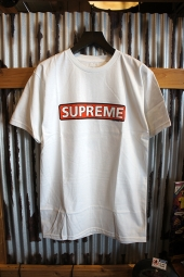 POWELL PERALTA SUPREME S/S T-SHIRT (WHITE)