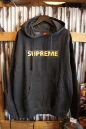 POWELL PERALTA SUPREME HOODED SWEATHSIRT (CHARCOAL)