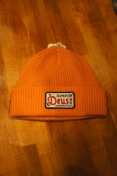 DEUS EX MACHINA Okay Beanie (ORANGE)
